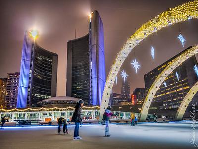 Toronto City Hall Skating Rink