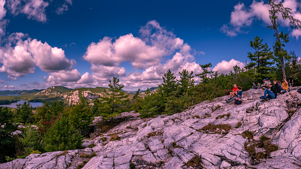 """The View from """"The Crack"""" Hiking Trail"""