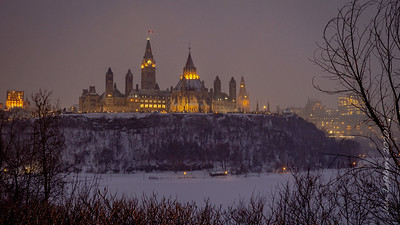 Parliament from across the River