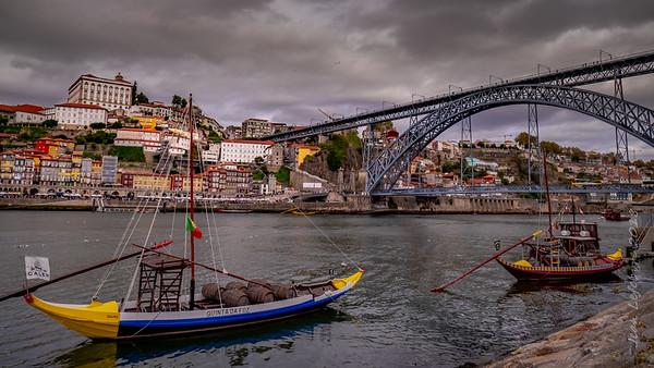 Porto from Villa Gaia