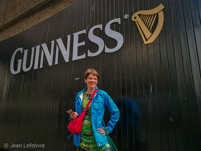 Cathy likes Guinness