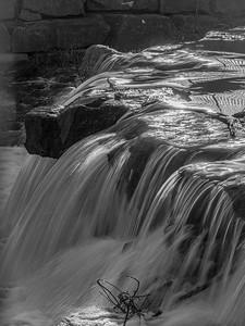Erb Grist Mill Pond Falls