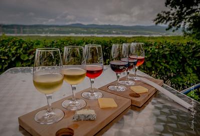 Wine on L'Ile D'Orlean