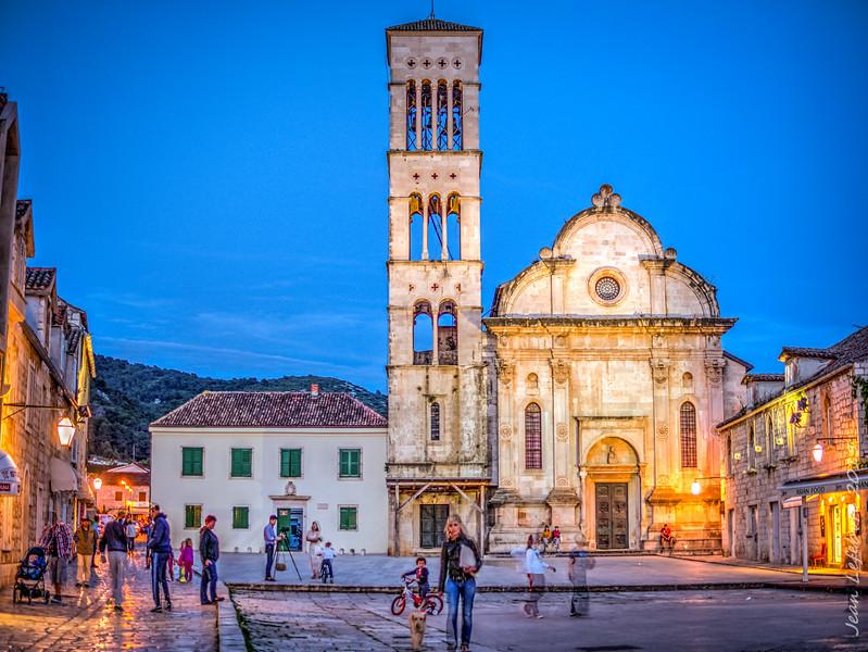 Hvar Cathedral, Croatia