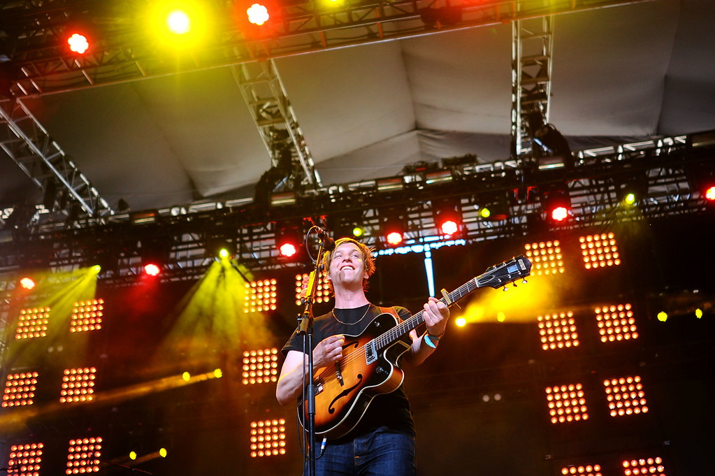 . George Ezra performs during the Coachella Valley Music and Arts Festival in Indio, CA Friday, April 17, 2015.(Andy Holzman/Inland Valley Daily Bulletin)