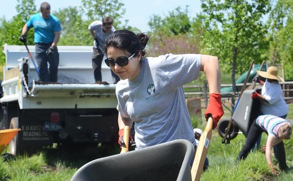 051415 MERCK Stony Creek Park cleanup