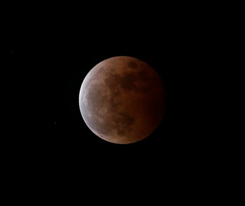 Philippines Total Lunar Eclipse