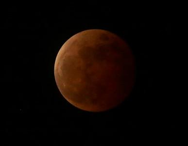Philippines Lunar Eclipse