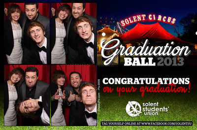 Solent Graduation Photo Booth