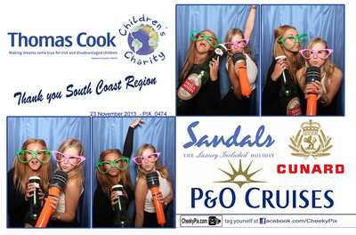 Thomas Cook Charity Photo Booth
