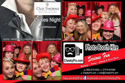 Ladies Night Photo Booth