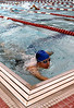 Bob Raines--Montgomery Media<br /> A contestant finishes swimming the 10-lane circuit of the high school pool during the Upper Dublin Triathlon Sunday, May 17, 2015.