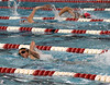 Bob Raines--Montgomery Media<br /> Contestants swim back and forth through a 10-lane circuit of the high school pool during the Upper Dublin Triathlon Sunday, May 17, 2015.