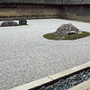 The Rock Garden at Ryoanji Temple, Kyoto