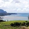 Kalihiwai and Anini, Kauai. Brown water after heavy rains