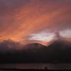 Sunrise above Maruyama, Kinosaki Onsen