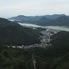 Kinosaki Onsen from atop Mt. Taishi