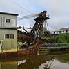 Gold Dredge 8 at Fairbanks gold mine