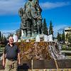 Eskimo Monument Fairbanks Alaska