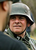 Bob Raines--Montgomery Media<br /> Re-enactor Dominic DiIorio portrays a German soldier with the 9th SS Viking regiment at the World War II Weekend at Graeme Park Saturday, May 2, 2015.