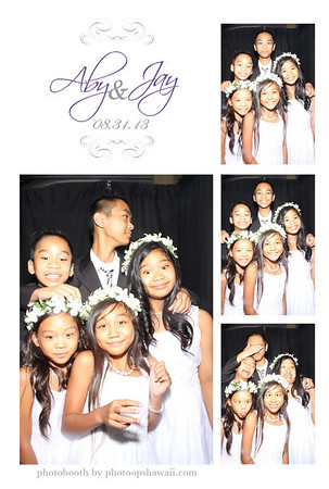Aby + Jay (Stand Up Booth)