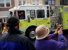 Fort Washington Fire Co. was only one of the companies to join the Ambler Holiday Parade  Saturday, Dec. 6, 2014.<br /> Bob Raines-Montgomery Media