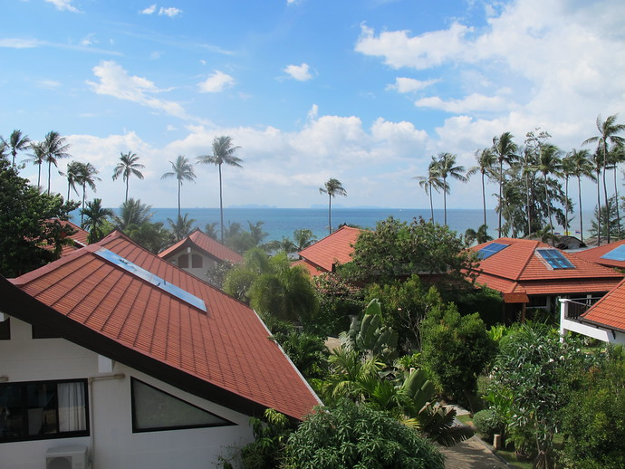 Stunning Andaman Sea Views from the Upper Level Terrace