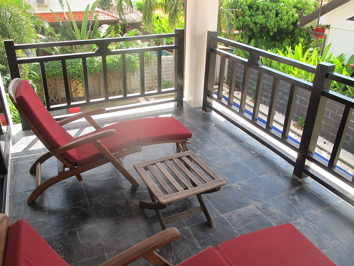 Master bedroom private balcony terrace