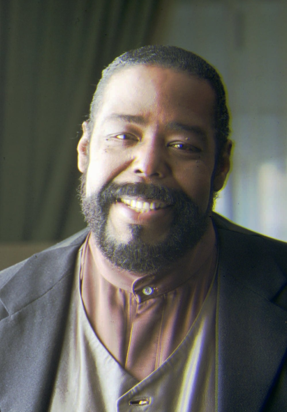 . Barry White, shown in a November 1994 file photo, was forced to cancel an appearance on a Soul Train anniversary special while he undergoes tests at a Las Vegas hospital, according to A&M Records publicist Diana Baron. He was admitted earlier this week. White, 51, had just returned to his Nevada home from a 13-month tour of 22 countries to promote his new album. (AP Photo/File)