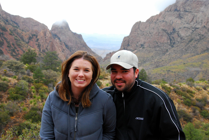 At the Window in the Chisos Basin