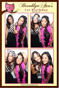 Brooklyn Ava's 1st Birthday (Luxe Photo Booth)