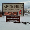 "Where we live: Reports DENNIS FROM EAGAN: ""Now that the frigid days finally appear to be behind us, here is how an electronic church sign in Burnsville (about a mile southwest of the Minnesota 13 and Minnesota 77 cloverleaf) looked at 7:41:55 a.m. and then again at 7:42:00 a.m. on Saturday, Feb. 15, 2014. It was great comic relief for a BRRisk morning. As an added bonus, the 'TOO' word is actually spelled T-D-O, if you look closely. Oopps!"""