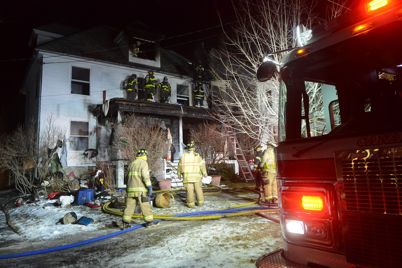 Canandaigua firefighters responded to a structure fire with people trapped at 22 ScotlandRoad. Assisting them at the scene were firefighters from the VA, Cheshire, Crystal Beach, Farmington, Fishers and Victor at the scene.