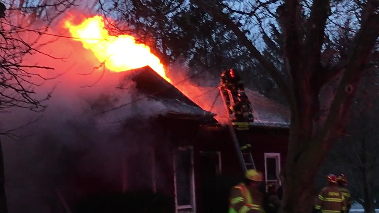 Structure Fire in Cheshire