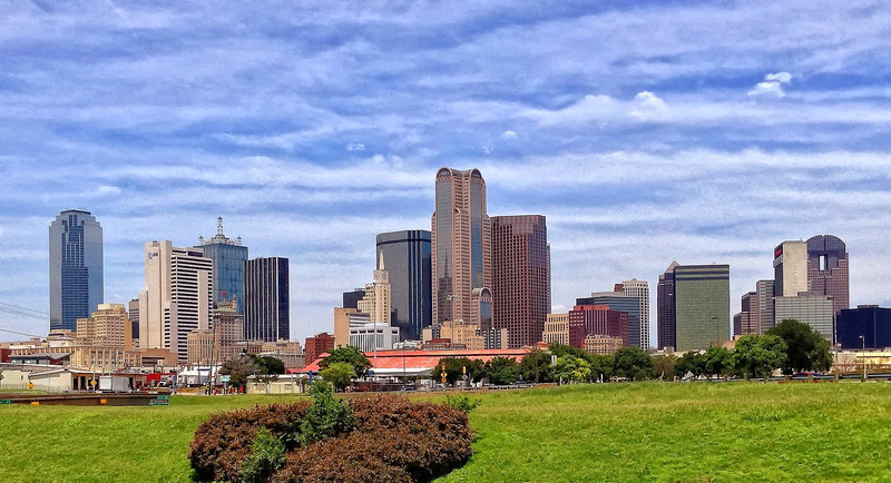 Dallas from a southern exposure