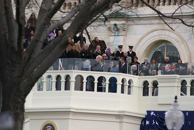 57th Presidential Inauguration 2013 (Red Area) Vice President Joe Biden Oath of Office