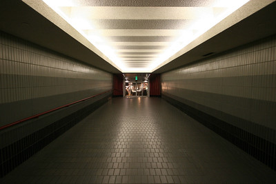 Underground entrance to Crystal City shops
