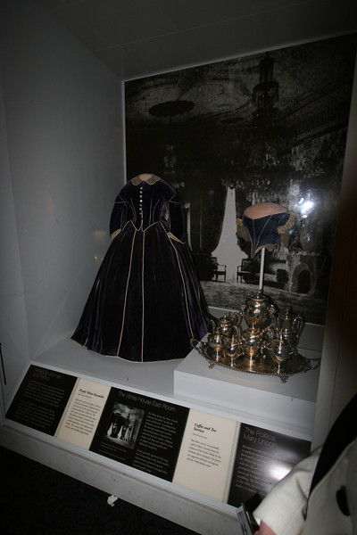 First Lady Mary Lincoln's Purple Velvet Ensemble