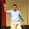 Zachary Frerichs playing Pesto. SENTINEL & ENTERPRISE/JOHN LOVE