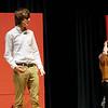 Skyler Robinson playing Espresso and Rachel Webber playing Piccola. SENTINEL & ENTERPRISE/JOHN LOVE