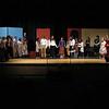 The cast in the last  scene of the play. SENTINEL & ENTERPRISE/JOHN LOVE