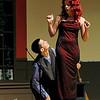 Jushua Ciares playing Calzone and Kasey LaRocque playing Duse. SENTINEL & ENTERPRISE/JOHN LOVE
