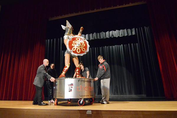 FHS unveils Red Raider statue