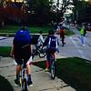 Biking to school