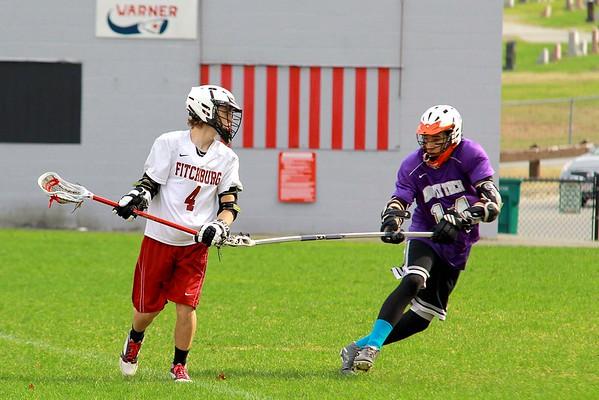 Fitchburg High School vs. Monty Tech Lacrosse April 22, 2015