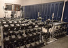 Bob Raines-- Montgomery Media<br /> The weight room at the Fort Washington firehouse.