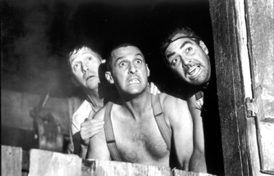 "2000: Tim Blake Nelson, left, John Turturro, center, and George Clooney in ""O Brother, Where Art Thou?""   L.A. Daily News file photo"