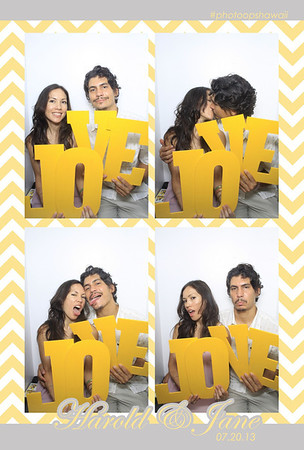 Harold + Jane (Luxe Photo Booth)