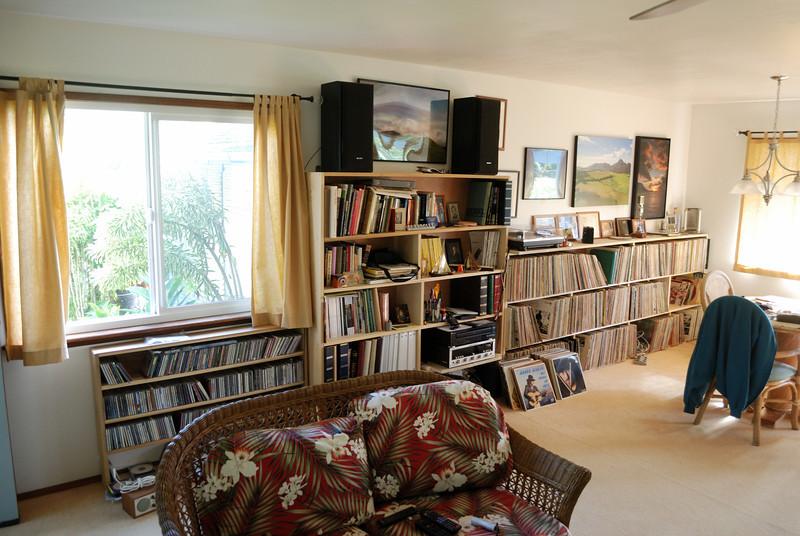 East side, living room