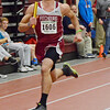 Fitchburg's Niklas Miles runs the 4 x 220 during the Mid-Wach league championships at Fitchburg High on Saturday morning. SENTINEL & ENTERPRISE / Ashley Green